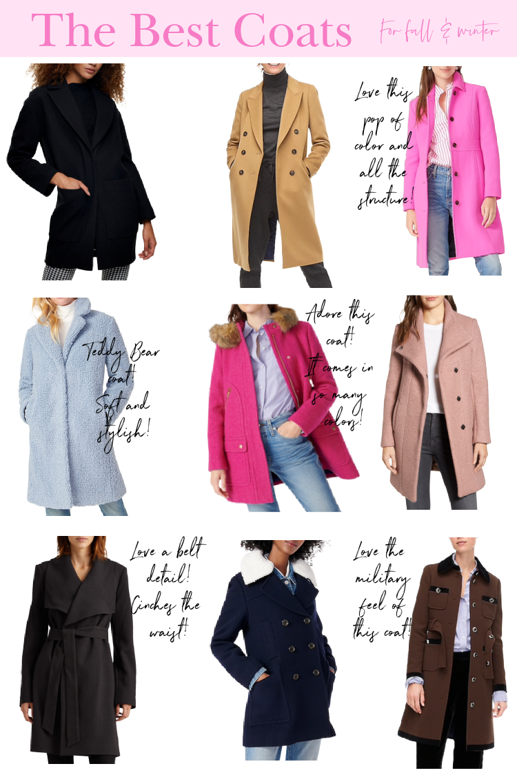 The Best Fall Coats 2020