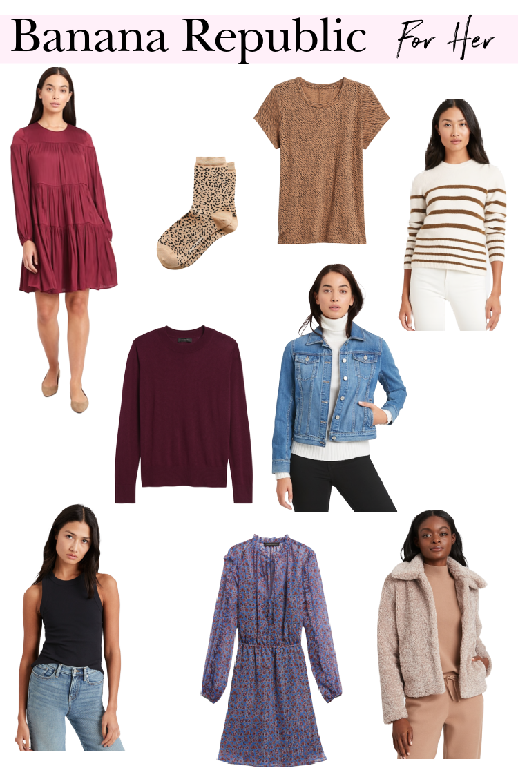 2020 GiftGuide Banana Republic SALE Favorites for her