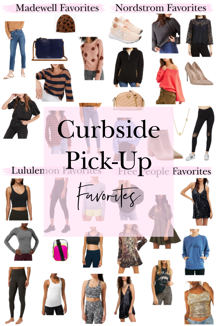 Holiday Curbside Pick-Up Favorites for the holidays