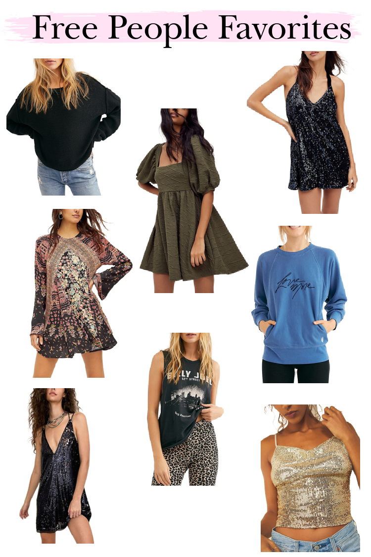 Free People Favorites for Curbside Pickup