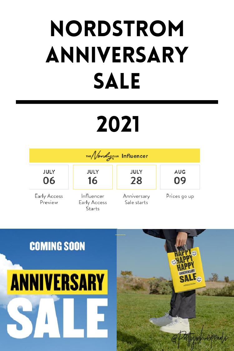 2021 Nordstrom Anniversary Sale 2021 Details