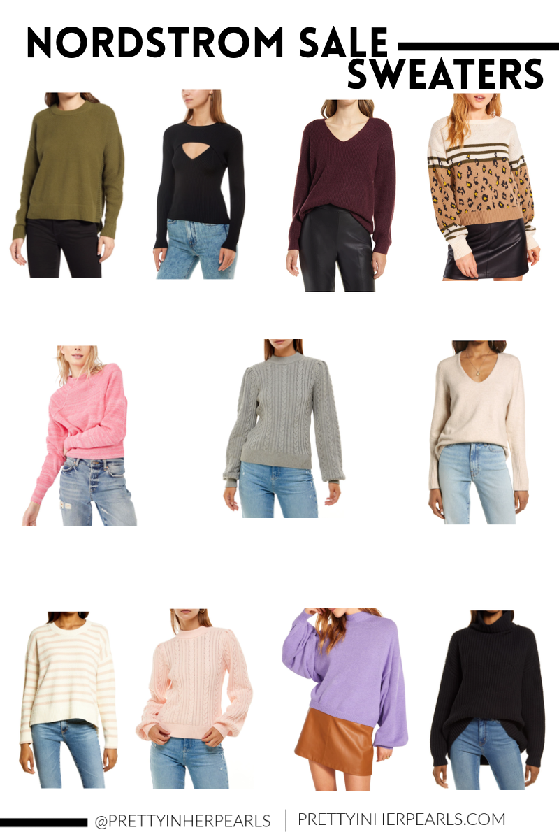 2021 Nordstrom Anniversary Sale Sweaters For All