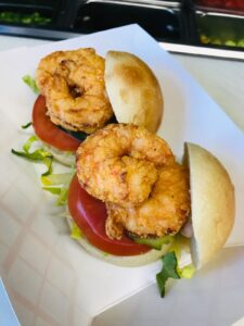 Shrimp Po' Boy Sliders