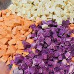 Tricolored Sweet Potato