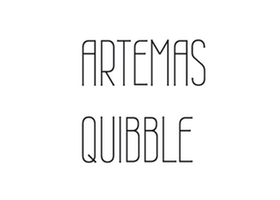 Fashion: Artemas Quibble