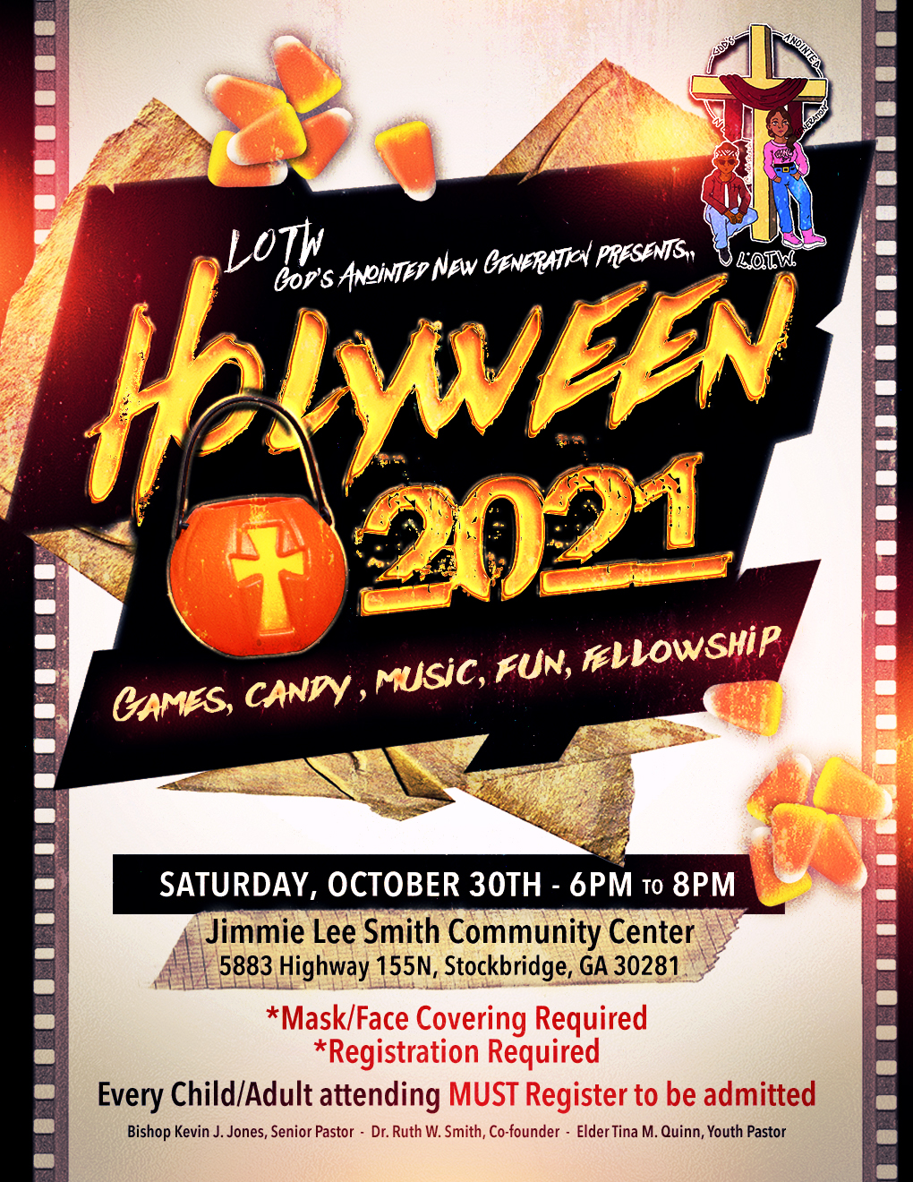 flyer for Holyween 2021