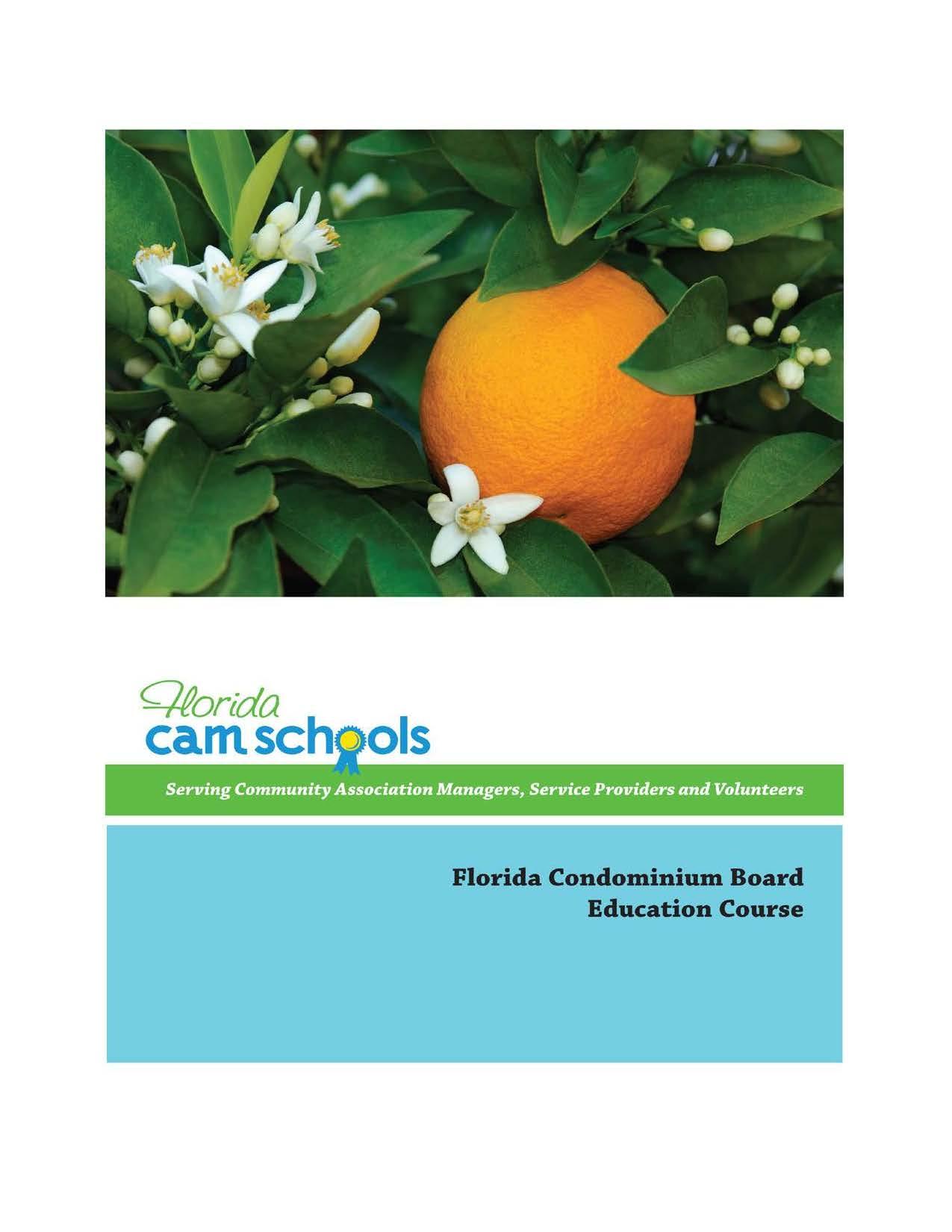 Florida Condominium Board Education Course – Self Study
