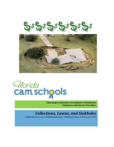 Collections, Lawns, and Sinkholes