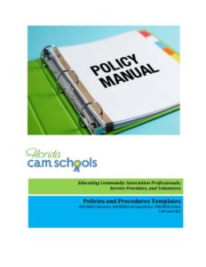 Policies and Procedures Templates