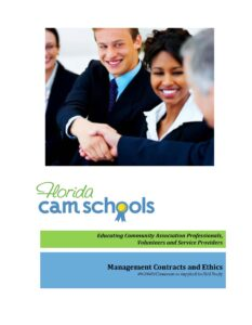 Management Contracts and Ethics