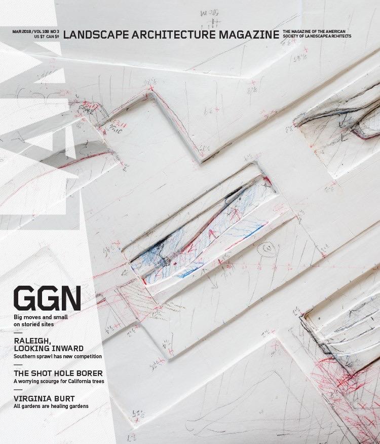 Landscape Architecture Magazine - Virginia Burt