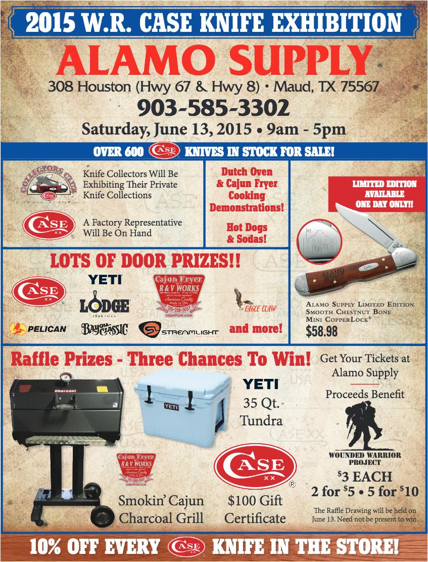 Alamo Supply 2015 Case Knife Exhibition