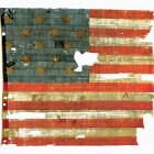 The Star-Spangled Banner, flown over Fort McHenry