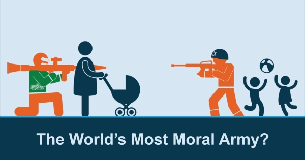The World's Most Moral Army?