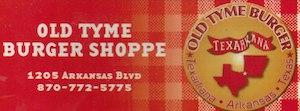 Old Tyme Burger