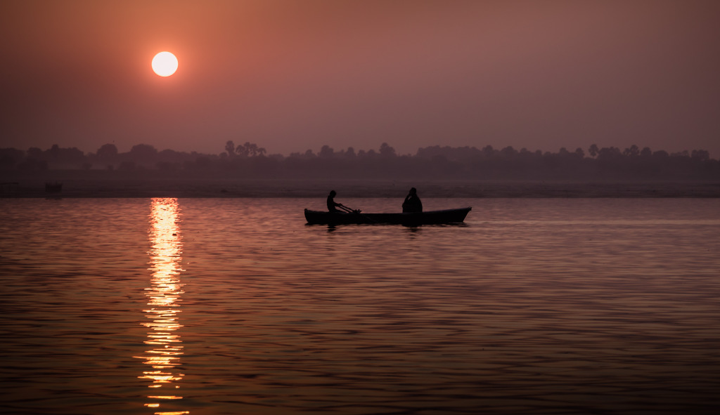 Contemplation on the Ganges
