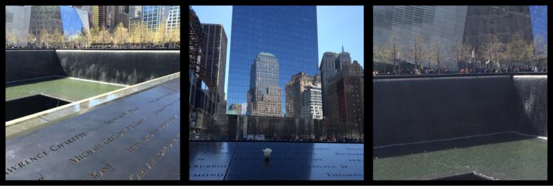 Reflection Pools 9/11 Memorial Manhattan New York City