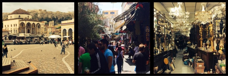 Monastiraki Flea Market. Athens