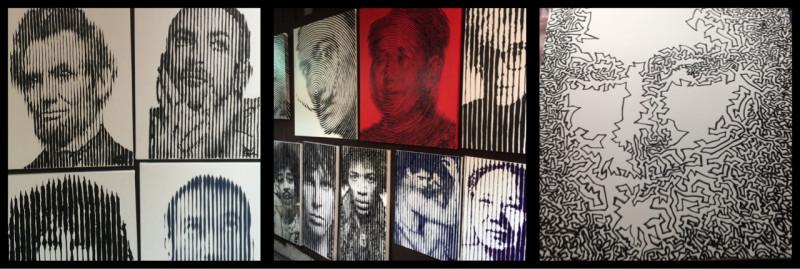 Famous Faces. Anuchit Klinkulab. Bangkok. Thailand