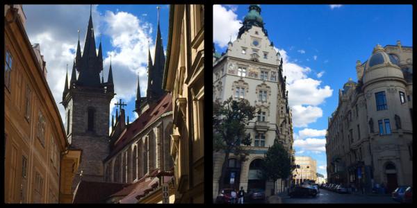 Architecture. Prague. Czech Republic.