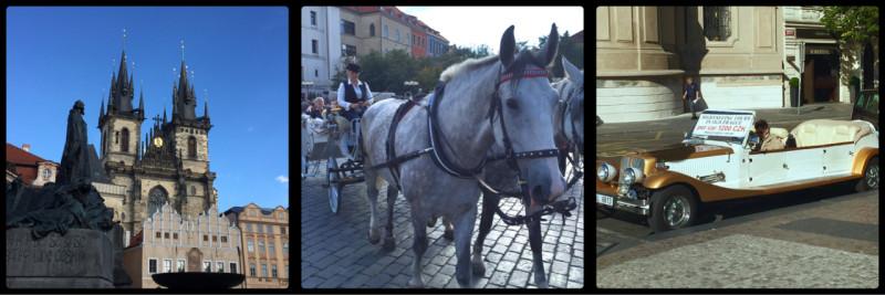 Streets and Tours. Prague. Czech Republic.