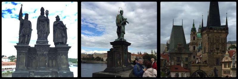 Charles Bridge. Prague. Czech Republic.