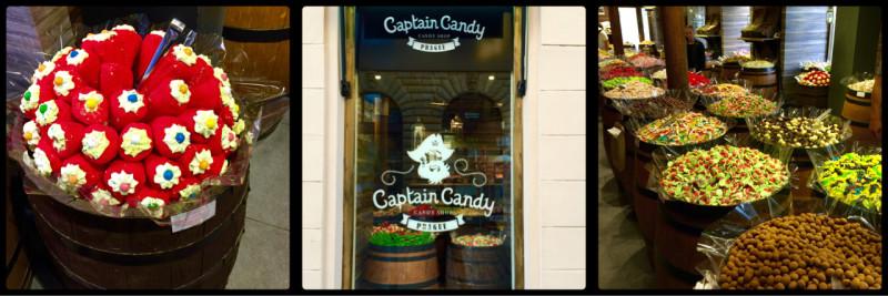Captain Candy. Prague. Czech Republic.
