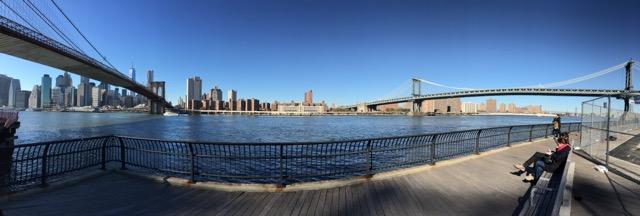 Brooklyn Bridge Park. New York