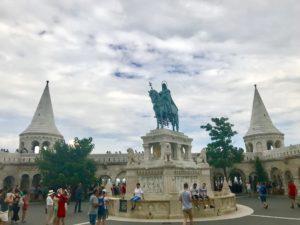 Buda Castle. Budapest. Hungary.