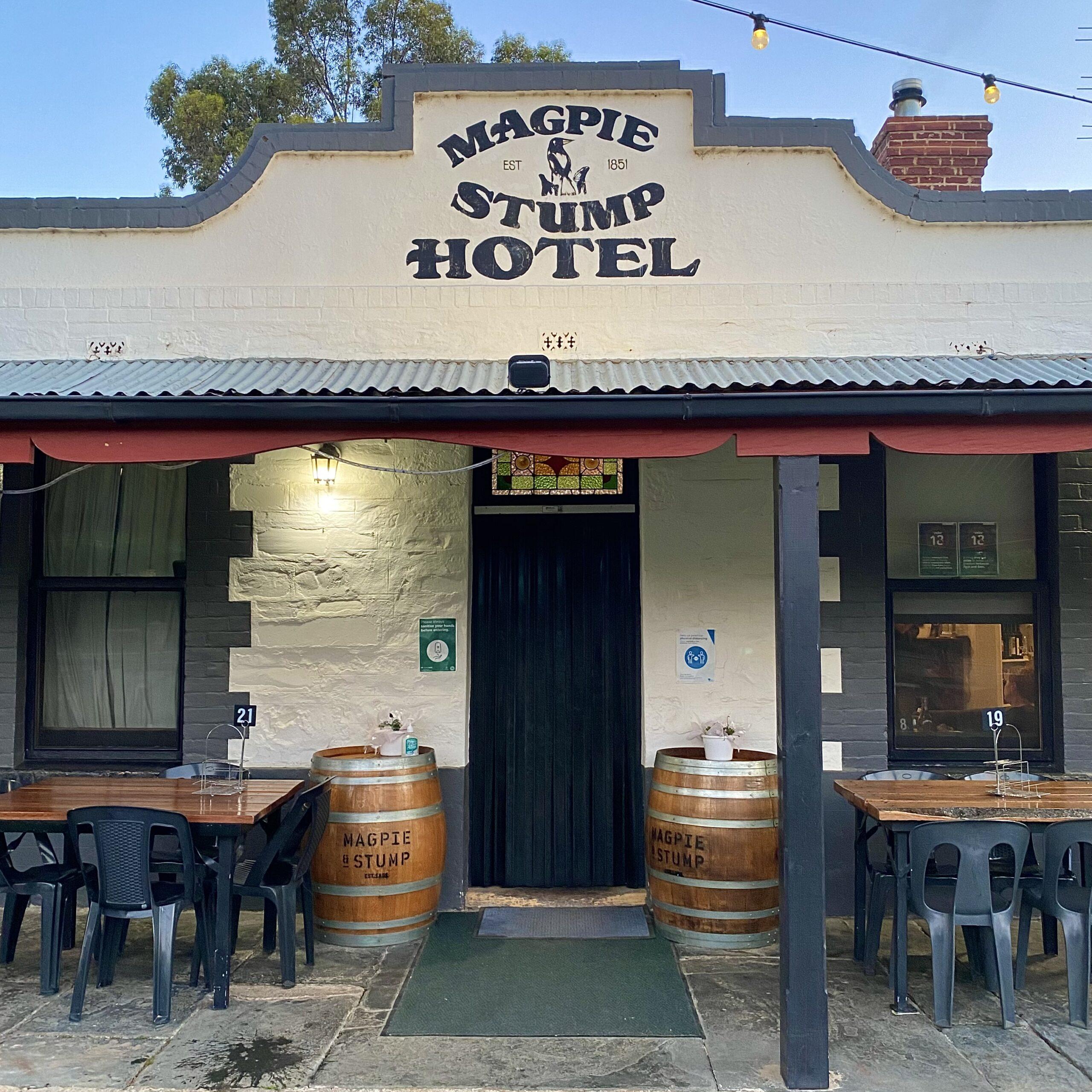 Magpie & Stump Hotel Clare Valley