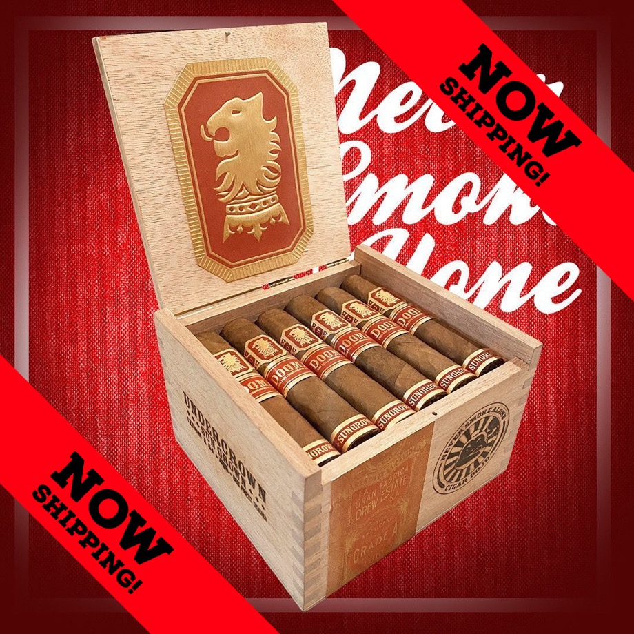 Drew Estate Announces Undercrown Dojo Dogma Sun Grown is now Shipping to Drew Diplomat Retailers Nationwide