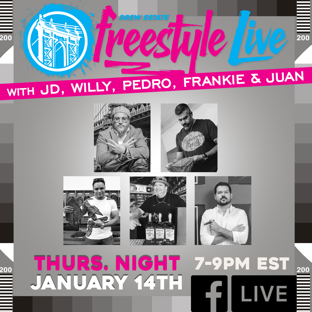 Tune in to Freestyle Live TONIGHT at 7PM EST!