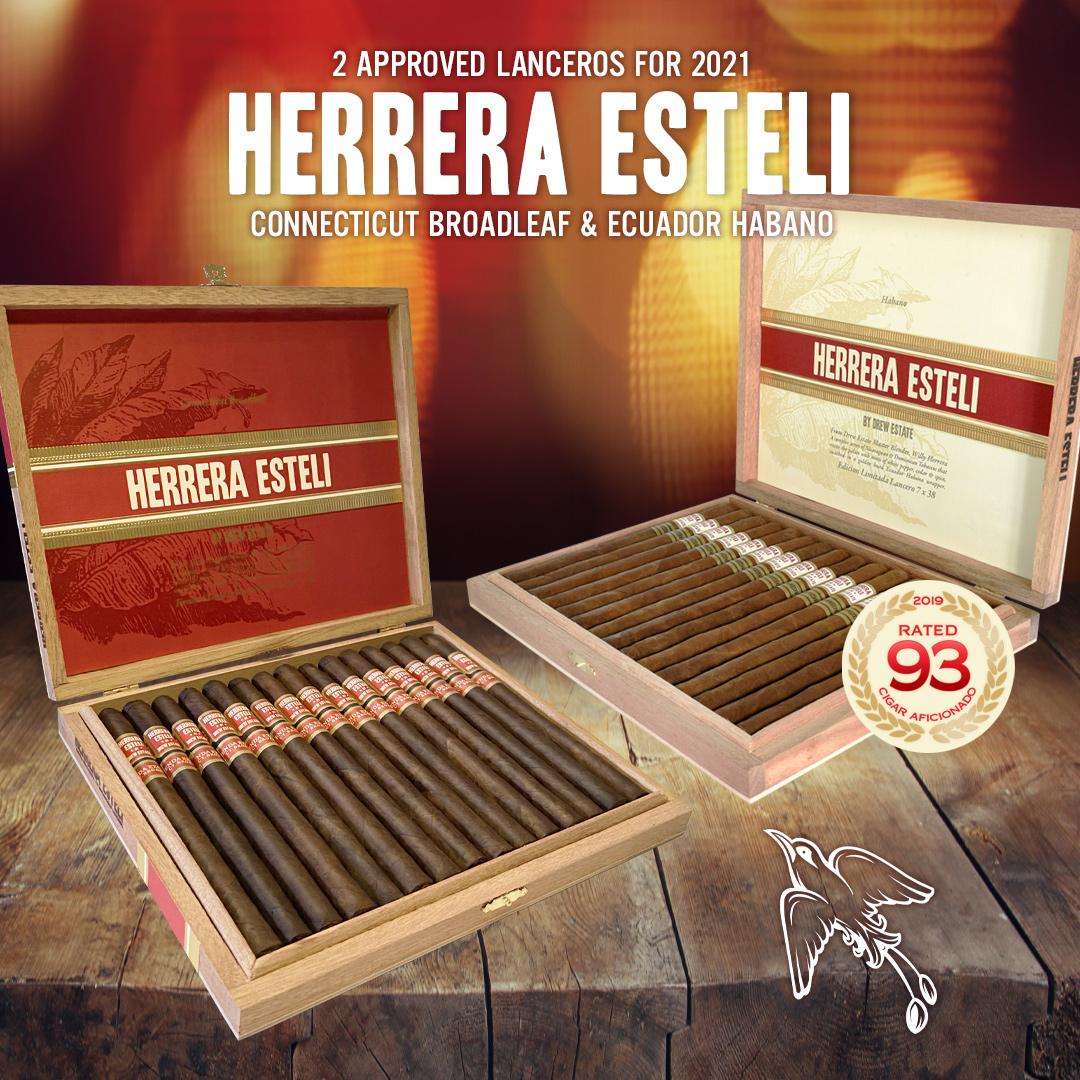 Herrera Estelí Limited Edition Lanceros Return as Drew Diplomat Program Exclusive