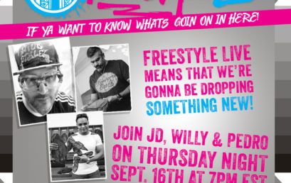 Tune in to Freestyle Live NOW!