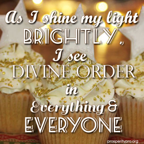 divine order in cupcakes