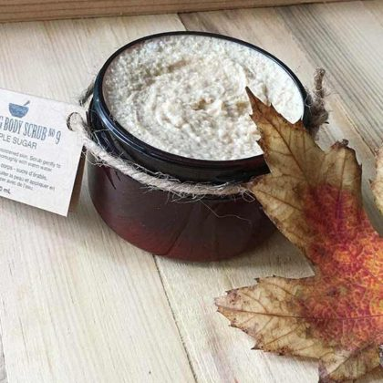 Maple Sugar Foaming Body Scrub