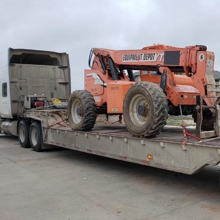 Landoll/Stepdeck trailer