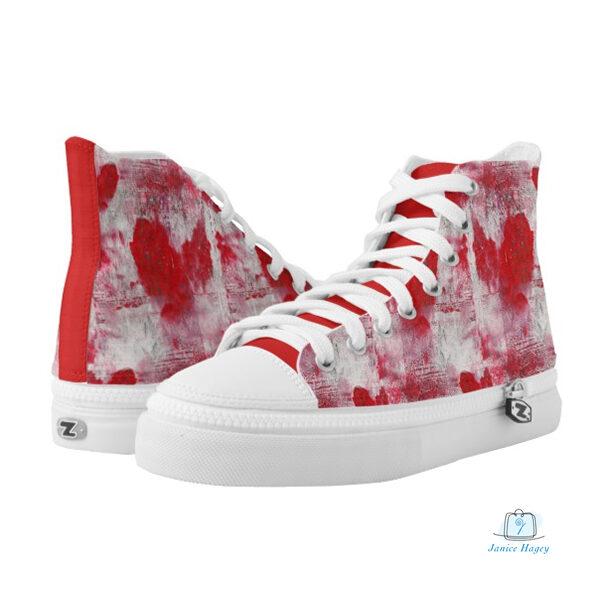 Messy Heart Shoes