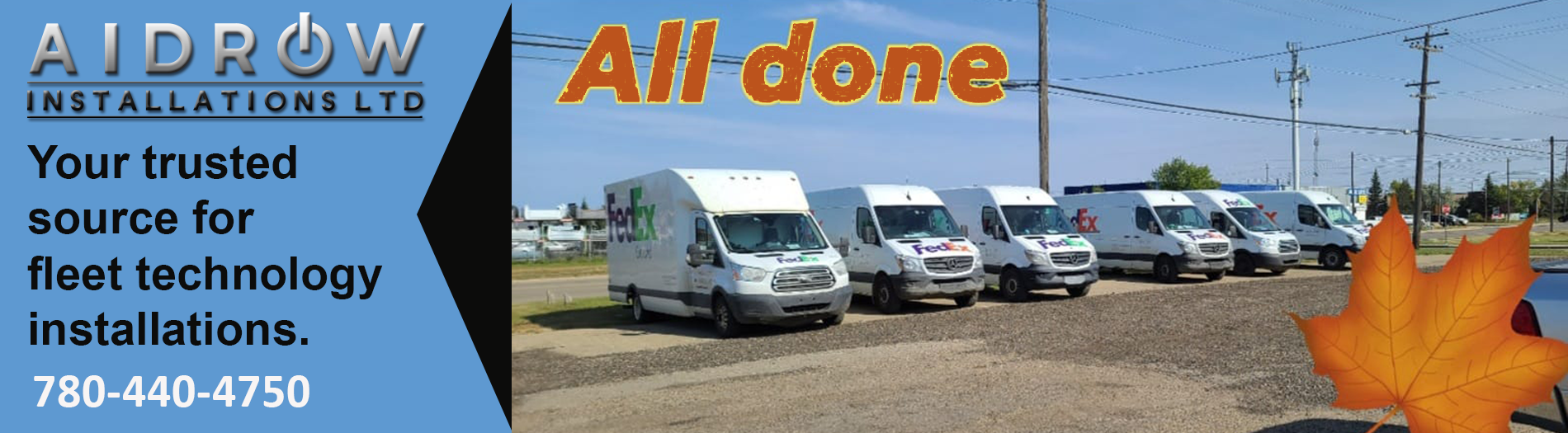 Aidrow is your trusted source for fleet technology installations