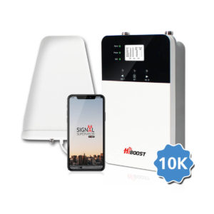 HiBoost Plus 10K Cell Boosters are now available for purchase and install at Aidrow Installations Ltd.
