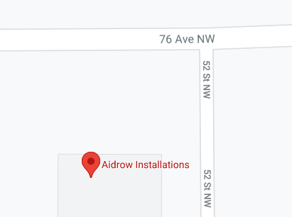 Google pin drop on Aidrow location for GPS tracking category