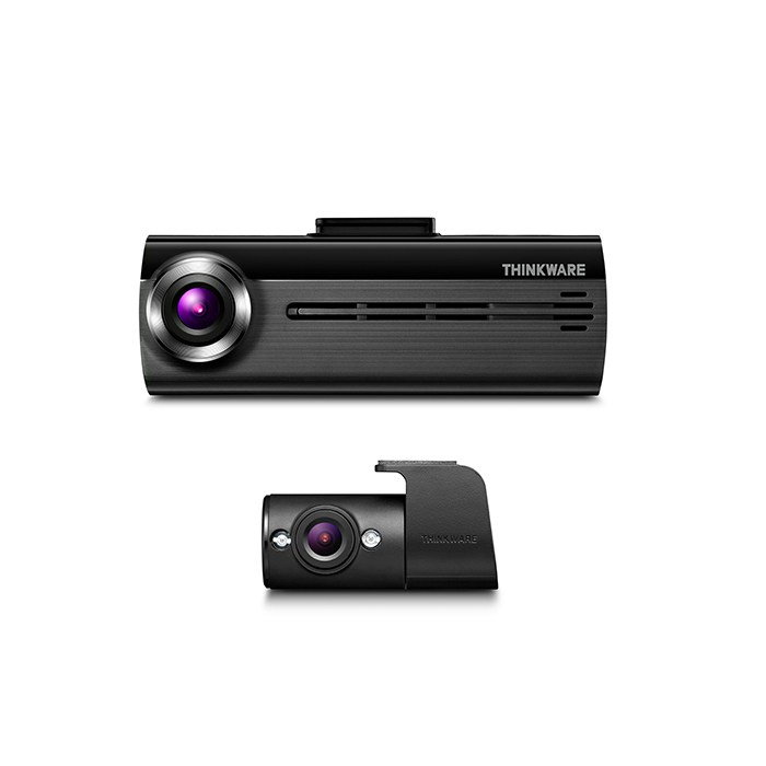 This is the Thinkware FA200 dash camera with rear camera option, ask us for details on how to purchase and have it installed.
