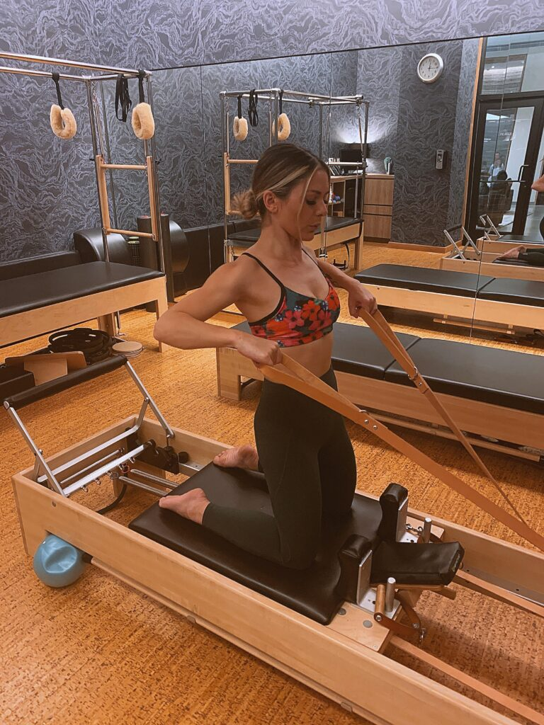 womens health physiotherapy pilates class