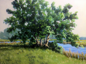 shore_drive_trees_linda_blondheim_art