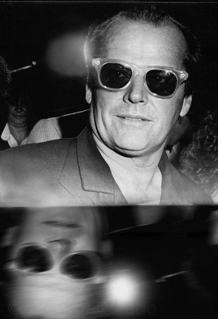 Jack Nicholson #toronto best celebrity art photographer, celebrity style #art decor daniel alvarado art