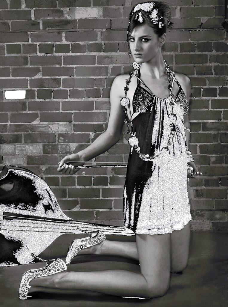 Fashion model ART #decor #Celebrity photography