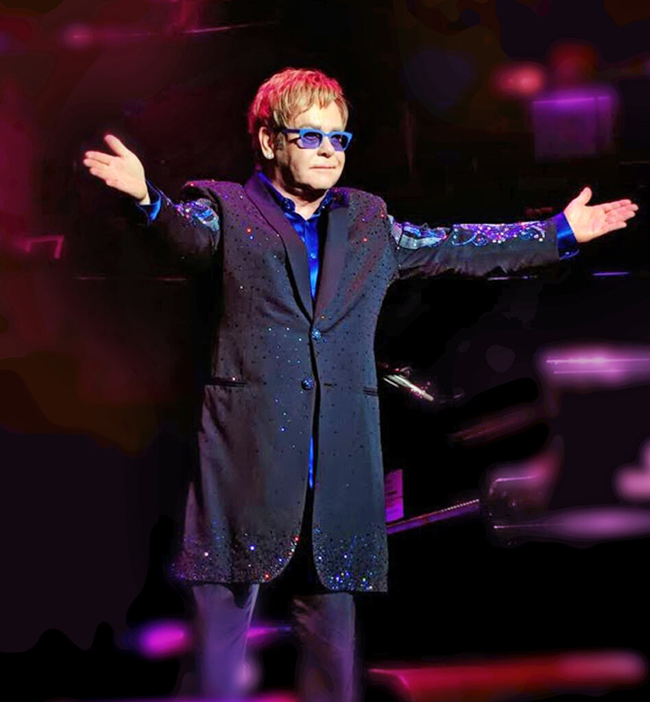 Elton John by Daniel Alvarado. celebrity art photography