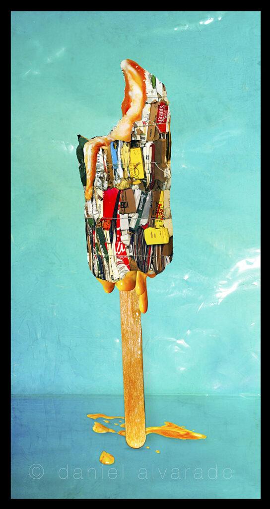 Creamsicle. Art Decor  auction. Best toronto photography. Daniel Alvarado Celebrity art. #decor photography. Pop art