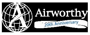 Airworthy 20th anniversary logo