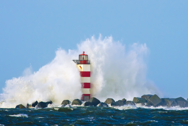 Catch The Lighthouse Wave!